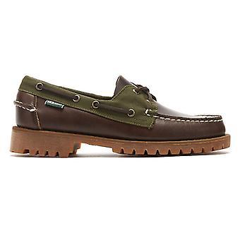 Sebago Ranger Millerain Mens Dark Brown Shoes